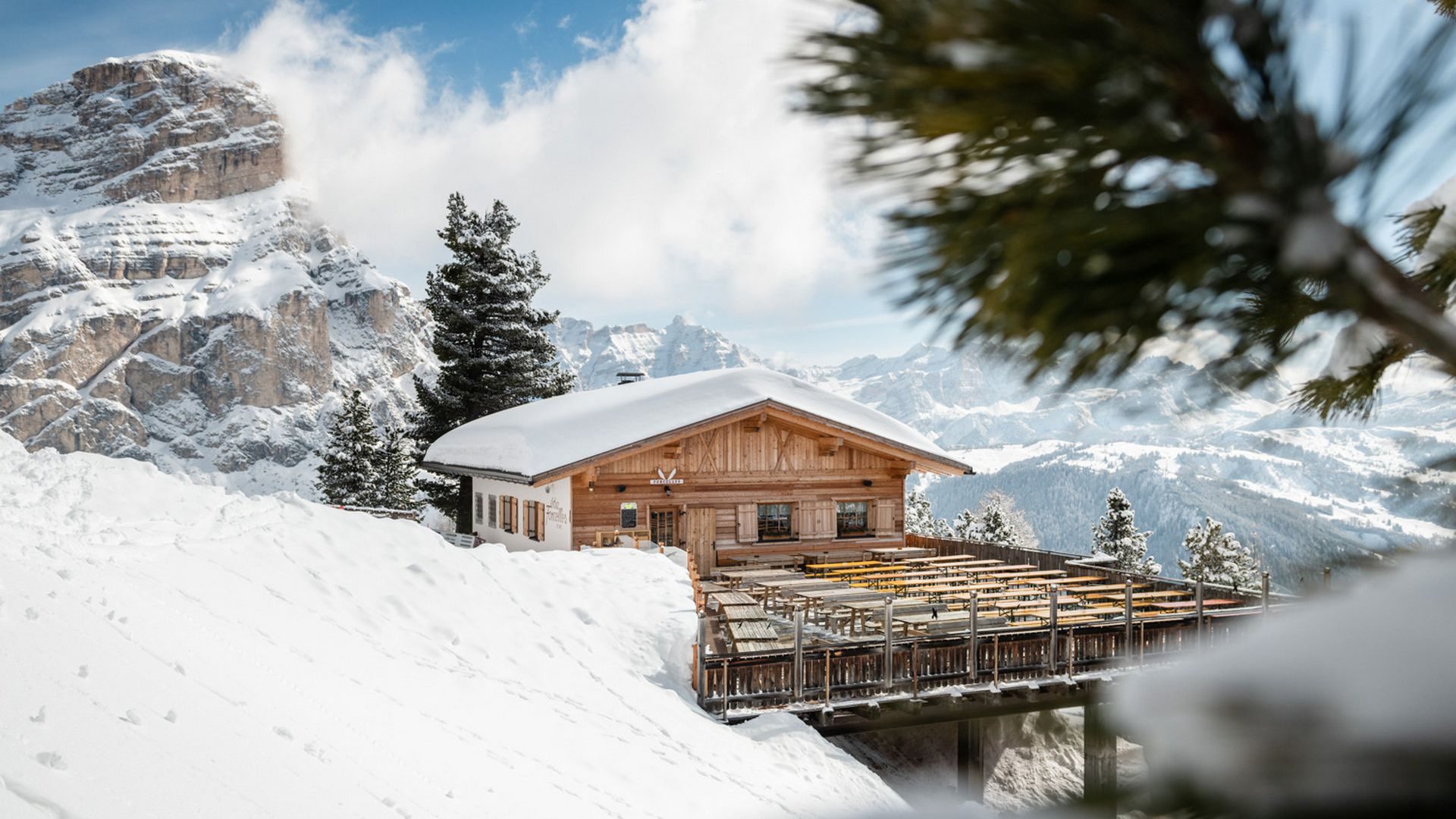 Image: Mountain hut Ütia Forcelles, Colfosco